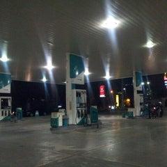 Photo taken at SPBU Petronas by Cak W. on 10/2/2012