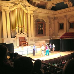 Photo taken at Mechanics Hall by Amy M. on 4/24/2013