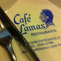Photo taken at Café Lamas by Diogo L. on 1/19/2013