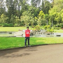 Photo taken at Istana Kepresidenan Cipanas by Ackang A. on 4/11/2014