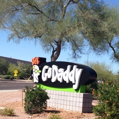 Photo taken at GoDaddy HQ by Laurie A. on 4/8/2014