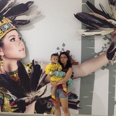 Photo taken at Bandara Sepinggan Balikpapan - Gate A6 by Anthony L. on 8/23/2014