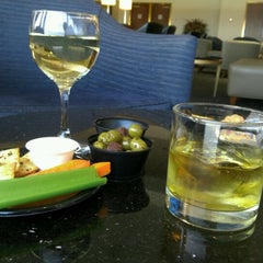Photo taken at Delta Sky Club by Jean-Pierre V. on 4/9/2013