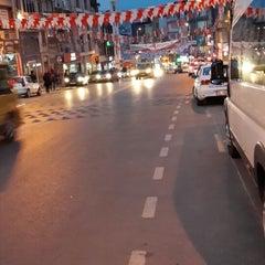 Photo taken at Halk Caddesi by Yalçın D. on 3/24/2014