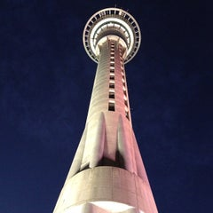 Photo taken at Sky Tower by Daniel K. on 1/21/2013