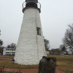 Photo taken at Concord Point and Lighthouse by Michael T. on 3/14/2015