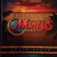 Photo taken at Monty's Sunset by Jeffrey F. on 6/1/2013