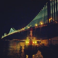 Photo taken at San Francisco-Oakland Bay Bridge by Nima M. on 3/8/2013