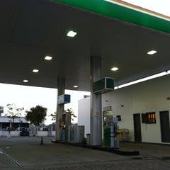 Photo taken at Posto BR by Eduardo F. on 10/21/2012