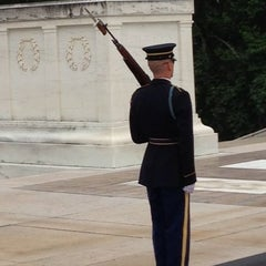 Photo taken at Tomb of the Unknowns by Greg G. on 8/7/2013