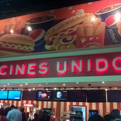Photo taken at Cines Unidos by Faruk H. on 4/27/2013