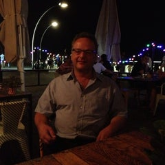 Photo taken at Bait Banamal - Restaurant (בית בנמל - המסעדה) by Michel K. on 9/5/2013