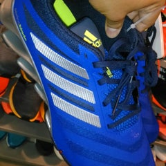 Photo taken at Adidas outlet store by Ramón B. on 4/2/2015