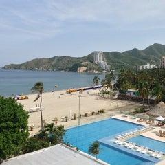 Photo taken at Tamacá Beach Resort Hotel by Matias M. on 6/8/2013