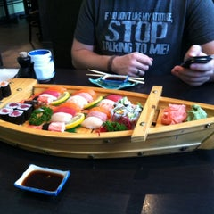 Photo taken at Sushi House by Robb P. on 10/13/2012