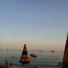 Photo taken at Spiaggia Seccheto by Beatrice F. on 8/15/2013