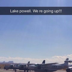 Photo taken at Page Municipal Airport (PGA) by Tania N. on 8/6/2014