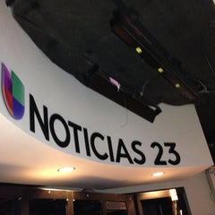 Photo taken at Univision Tower by Paulette M. on 5/3/2013