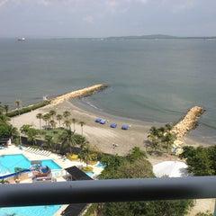 Photo taken at Hilton Cartagena by Daniel P. on 6/17/2013