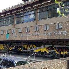 Photo taken at University Of Technology Sydney by Jiraboon N. on 10/17/2013