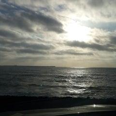 Photo taken at Zimer beach by Ayoub E. on 6/1/2014