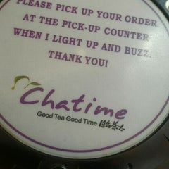 Photo taken at Chatime by Richie S. on 4/22/2016