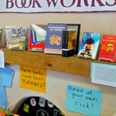 Photo taken at Bookworks by David W. on 9/15/2012