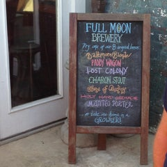 Photo taken at Full Moon Cafe & Brewery by Cory W. on 4/10/2013
