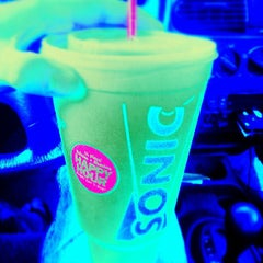 Photo taken at SONIC Drive In by Jonathan L. on 5/9/2013