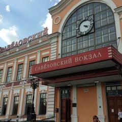 Photo taken at Савеловский вокзал / Savyolovsky Rail Terminal by Elya N. on 8/20/2013
