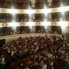 Photo taken at Teatro Municipal de Santiago by Felipe Andrés F. on 10/9/2013