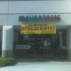 Photo taken at Mayan Tacos by James B. on 9/25/2011