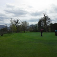 Photo taken at Old Conna Golf Club by Matthew G. on 4/17/2014