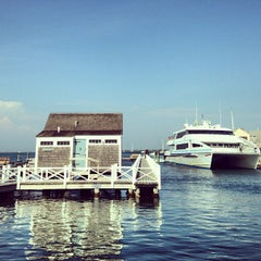 Photo taken at Straight Wharf by Carrie P. on 6/26/2013