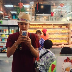 Photo taken at Double Crispy Bakery Inc by William Y. on 7/3/2013