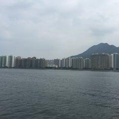 Photo taken at Ma Liu Shui Ferry Pier 馬料水渡輪碼頭 by Brenda T. on 10/2/2015
