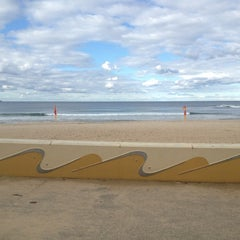 Photo taken at South Cronulla Beach by Danielle on 7/23/2013