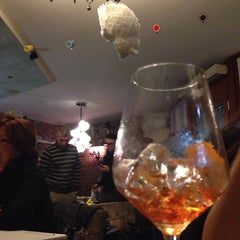 Photo taken at Caffe' Dei Pazzi by ⚓️ Carlo F. on 11/22/2013