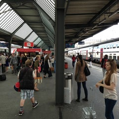 Photo taken at Gare de Genève Cornavin by Zoltán M. on 6/7/2013