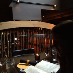 Photo taken at Carnevor Steakhouse Moderne by Parker C. on 5/10/2012