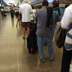 Photo taken at TSA Checkpoint C by Laura A. on 9/25/2014