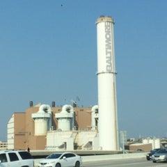 Photo taken at Baltimore BRESCO Smokestack / Wheelabrator Incinerator by Abdullah Yilmaz T. on 7/28/2015