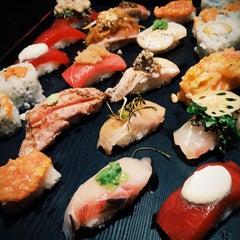 Photo taken at Sushi of Gari by Liubov U. on 9/25/2014