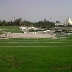 Photo taken at Al Mamzar Park (حديقة الممزر) by Valeriya S. on 6/14/2013