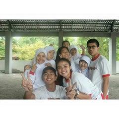 Photo taken at SMA Negeri 8 Malang by Sandi H. on 2/8/2014