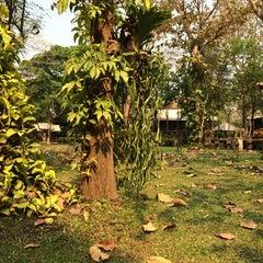 Photo taken at Doi Kham Resort by fafu f. on 3/29/2014
