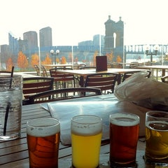 Photo taken at Moerlein Lager House by Burcu B. on 11/16/2012