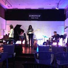Photo taken at Somethin' Jazz Club by Takaaki H. on 5/17/2013