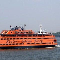 Photo taken at Staten Island Ferry - Whitehall Terminal by Alex H. on 6/16/2013