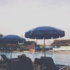 Photo taken at Swimming Pool by Gift T. on 4/14/2014